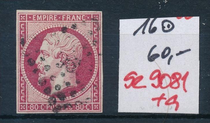 Frankreich Nr. 16 o  (se9081  ) siehe Bild