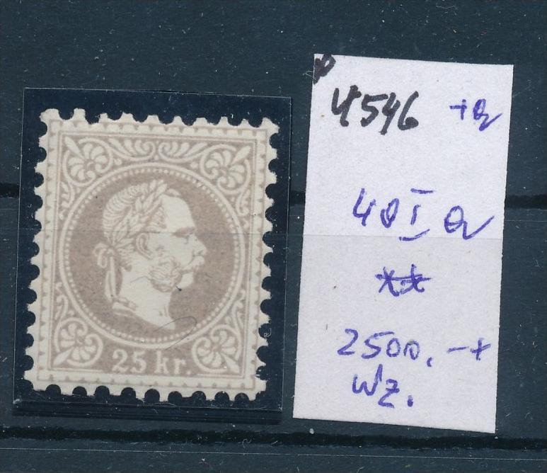 Österreich Nr. 40 Ia   **   (p4546  ) siehe Bild