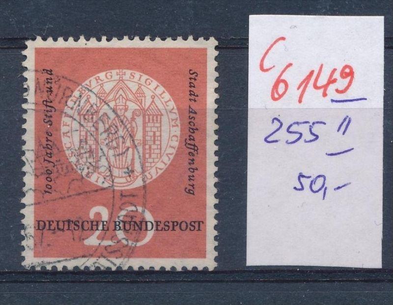 BRD  Nr.  255  II   o   (c  6149 ) -siehe Bild