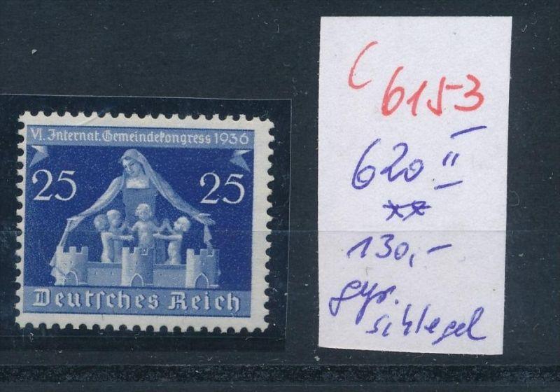D.-Reich   Nr.  620 II  **    (c  6153 ) -siehe Bild