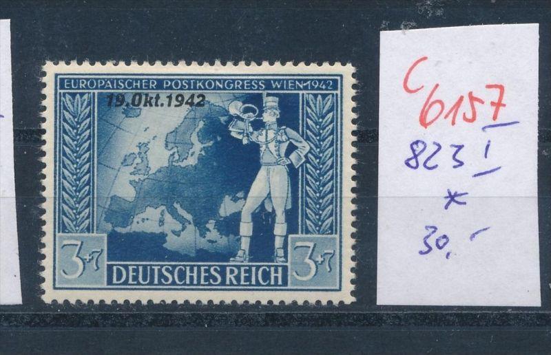 D.-Reich   Nr. 823 I  *    (c  6157 ) -siehe Bild