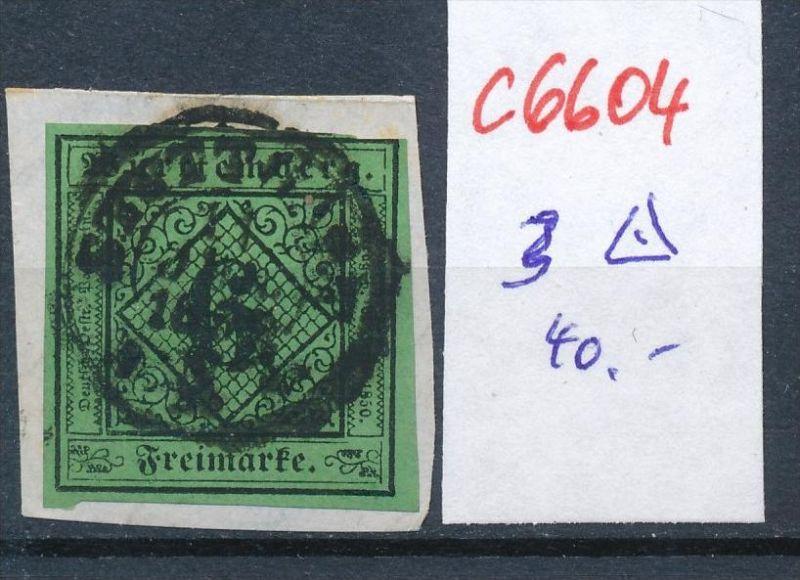 Würtemberg Nr. 3  o (c 6604 ) -siehe Bild