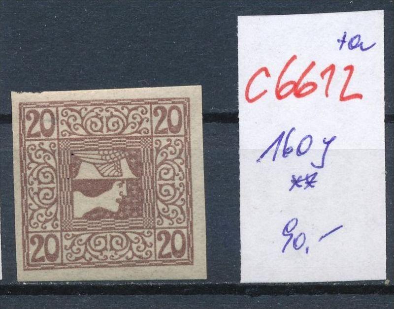 Österreich Nr. 160 y **    (c 6612 ) -siehe Bild