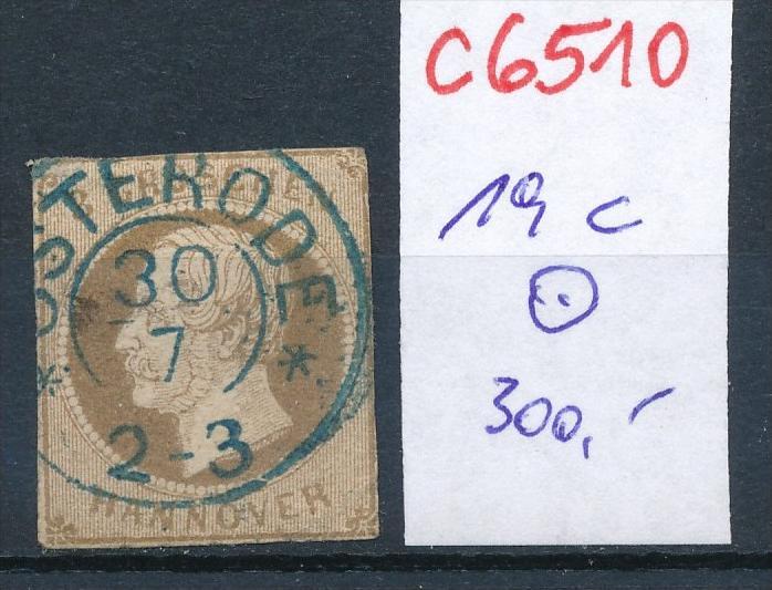 Hannover Nr. 19 c o   (c6510 ) -siehe Bild