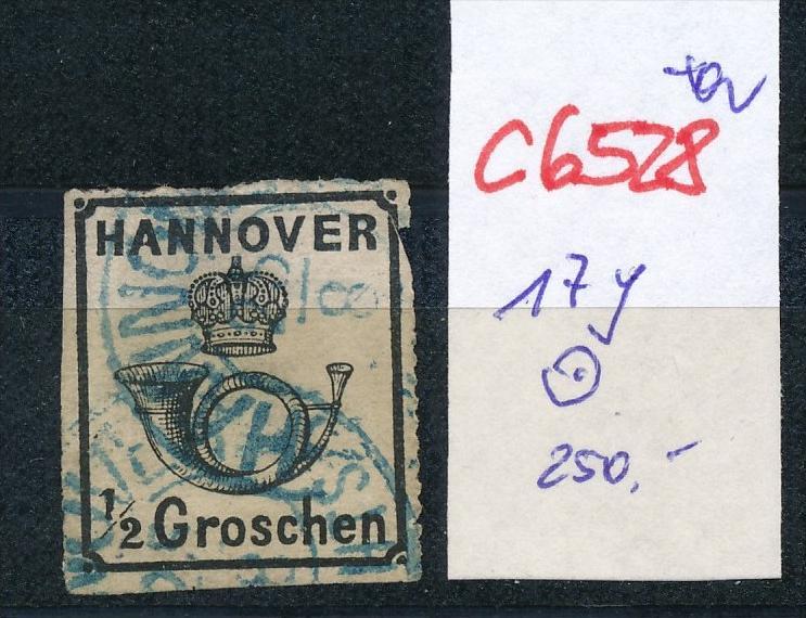 Hannover  Nr. 17 y  o    (c6528 ) -siehe Bild