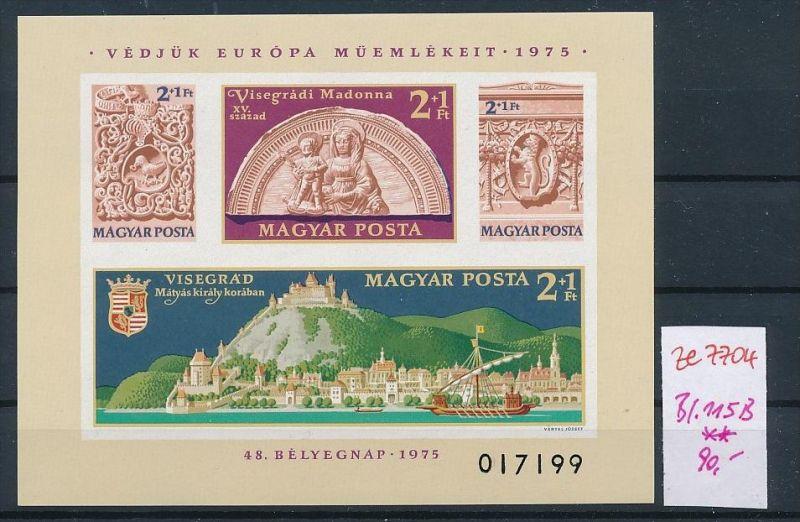 Ungarn  Block  115 B     **  (ze7704  ) siehe scan
