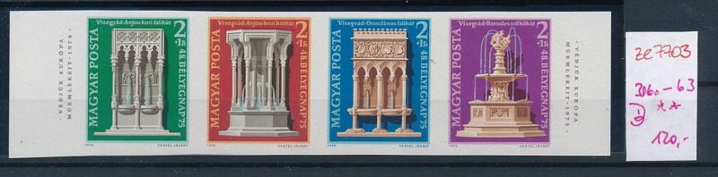 Ungarn  Nr. 3060-63     **  (ze7703  ) siehe scan