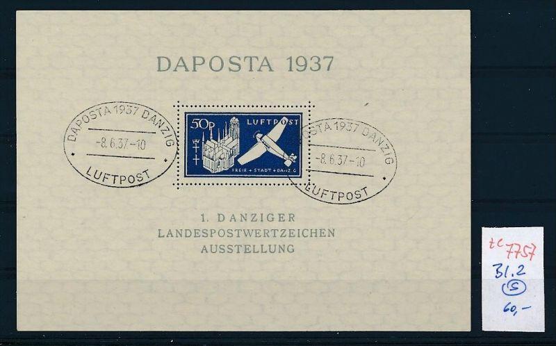 Danzig Block 2  o   (ze7757 ) siehe scan