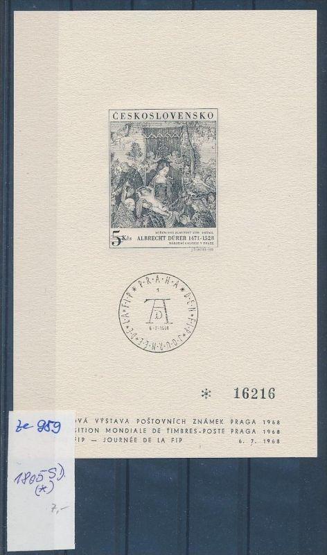 Tschechen -1805 -Sonder Druck       (ze959     ) siehe scan