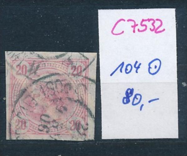 Österreich  Nr. 104   o  (c7532  ) siehe scan