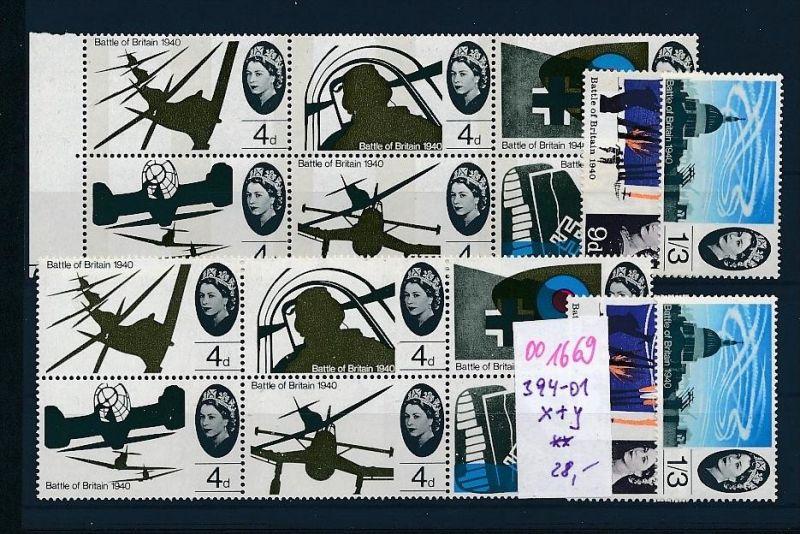 UK Nr. 394-01 x+y **     (oo1669 ) siehe scan