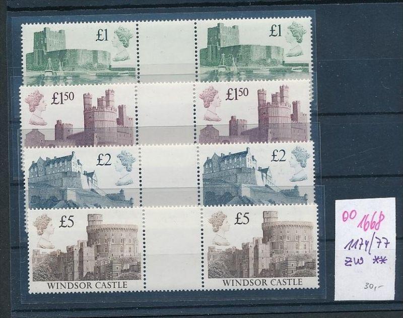 UK Nr. 1174-77 Z **     (oo1668 ) siehe scan