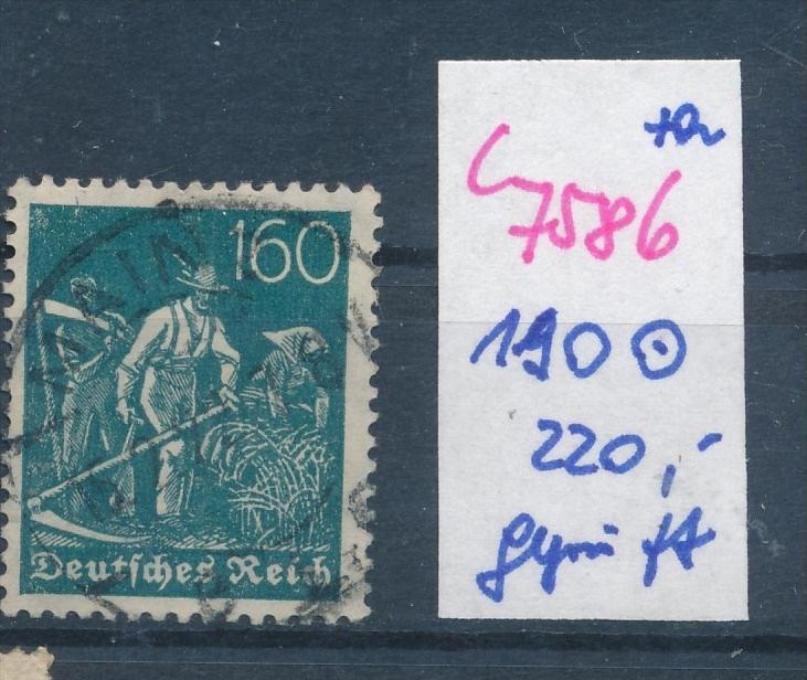 D.-Reich Nr.  190 geprüft   o (c 7586 ) siehe scan