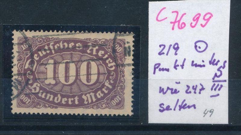 D.-Reich Nr. 219  PLF   o   (c7699 ) siehe scan