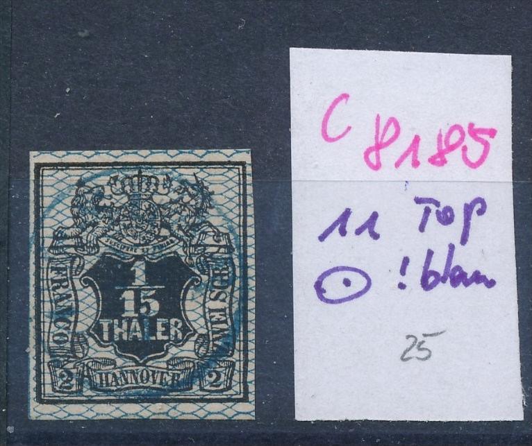 Hannover  11  blauer-o   (c8185  ) siehe scan