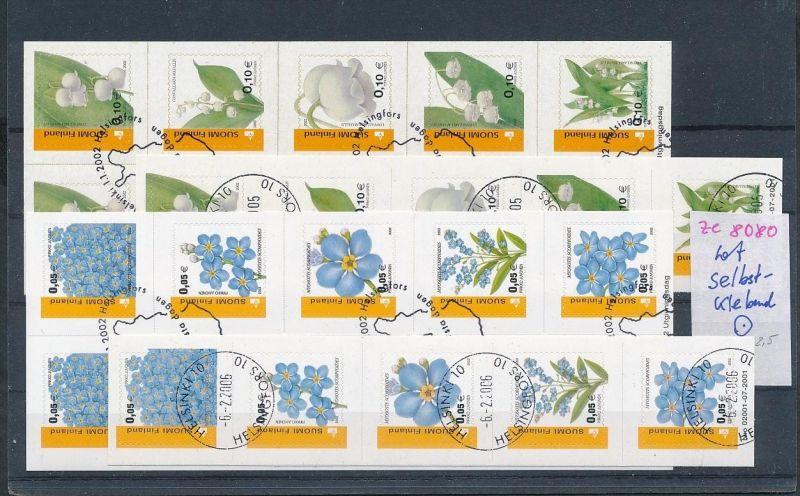 Finnland Lot  Folie Blätter o   (ze8080  ) siehe scan