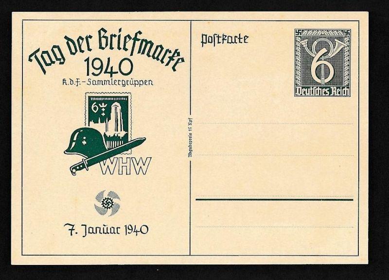 D.-Reich Ganzsache....  (oo2028  ) siehe scan