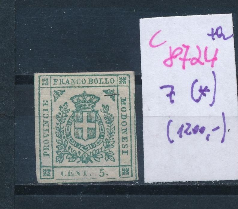 Modena   Nr.  7 (*)  (c8724  ) siehe scan