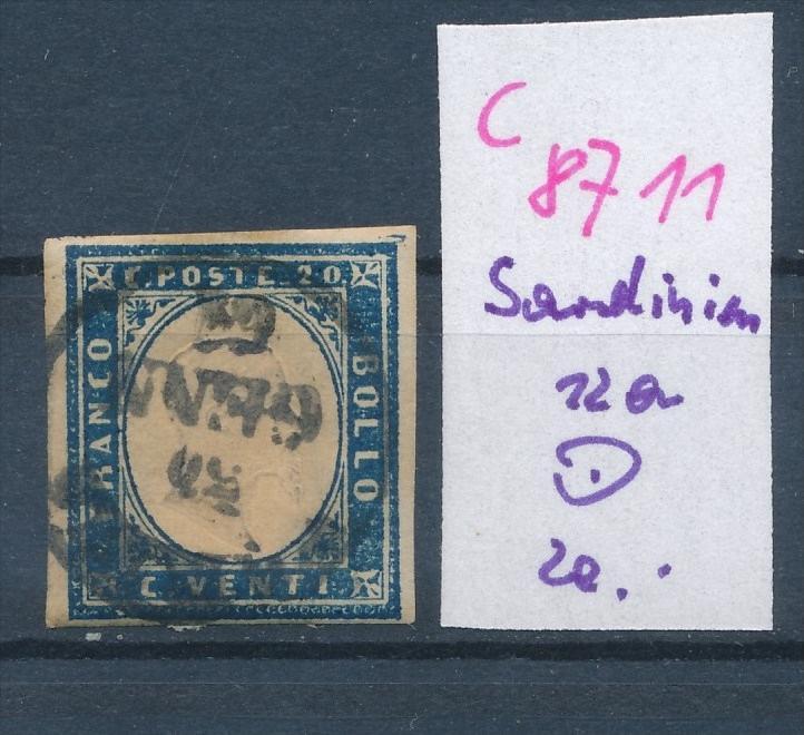 Sardinien   Nr.  12a    (c8711  ) siehe scan