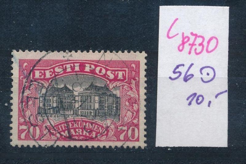 Estland    Nr.  56  o   (c8730  ) siehe scan