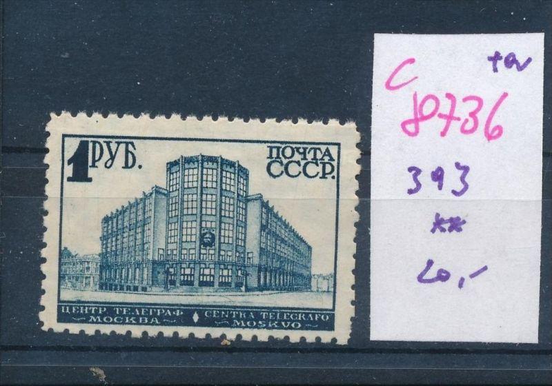 Russland  Nr. 393   **  (c8736  ) siehe scan