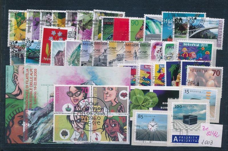 Schweiz  Lot- Jahr 2003 -top o....    (ze8242  ) siehe scan