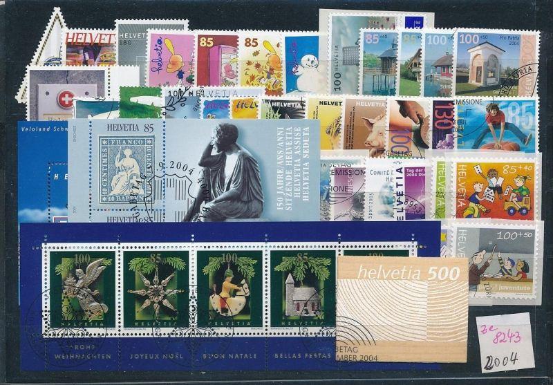 Schweiz  Lot- Jahr 2004 -top o....    (ze8243  ) siehe scan