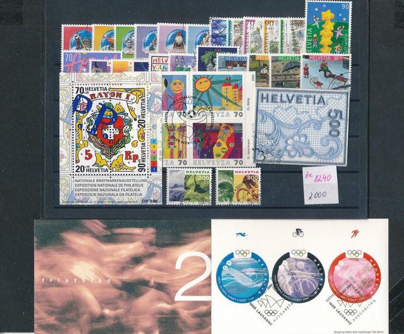 Schweiz  Lot- Jahr 2000 -top o....    (ze8240  ) siehe scan