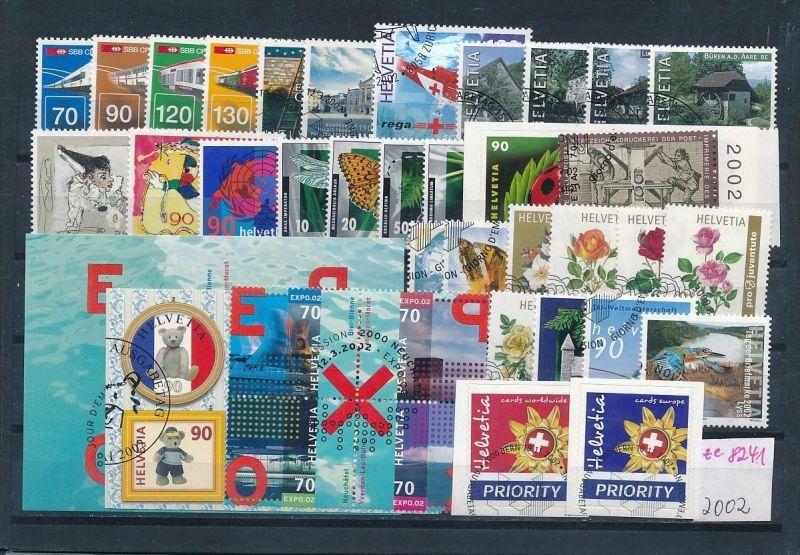 Schweiz  Lot- Jahr 2002  -top o....    (ze8241  ) siehe scan