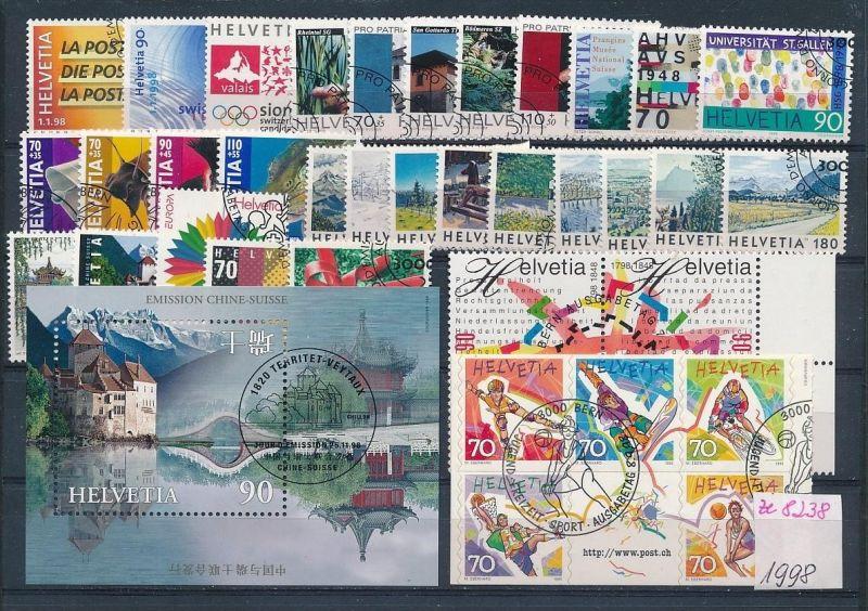 Schweiz  Lot- Jahr 1998  -top o....    (ze8238  ) siehe scan