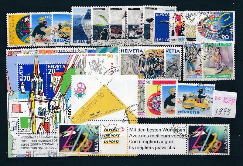 Schweiz  Lot- Jahr 1999  -top o....    (ze8239  ) siehe scan
