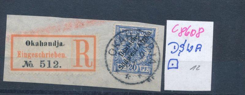DSWA  Briefstück     (c8608  ) siehe scan