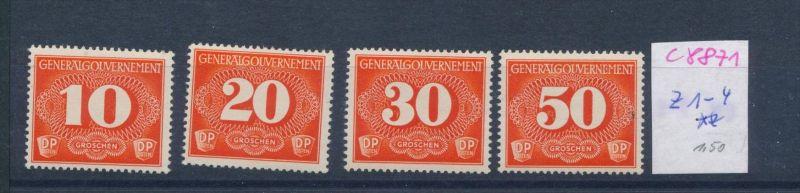 G.G.  Nr. Z 1-4    **     (c8871  ) siehe scan
