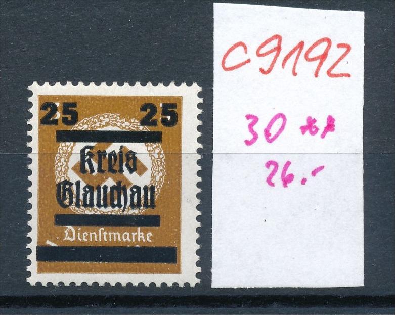 Glauchau  Nr. 30  ** (c9192  ) siehe scan