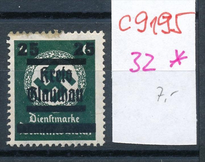 Glauchau  Nr. 32  * (c9195  ) siehe scan