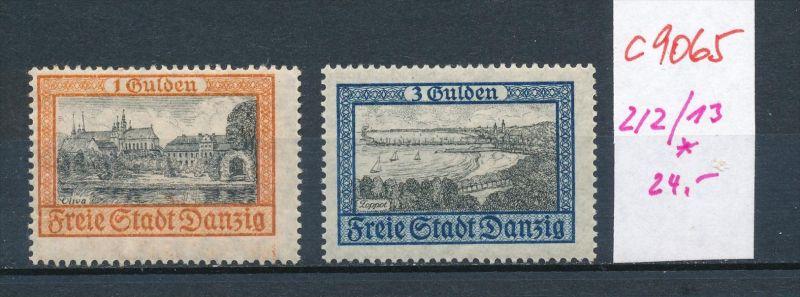 Danzig Nr. 212-14  *..(c9065  ) siehe scan