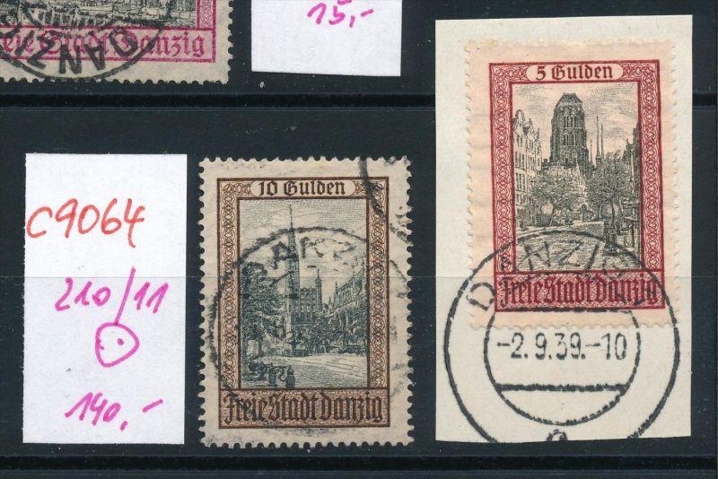 Danzig Nr. 210-11   o   (c9064  ) siehe scan