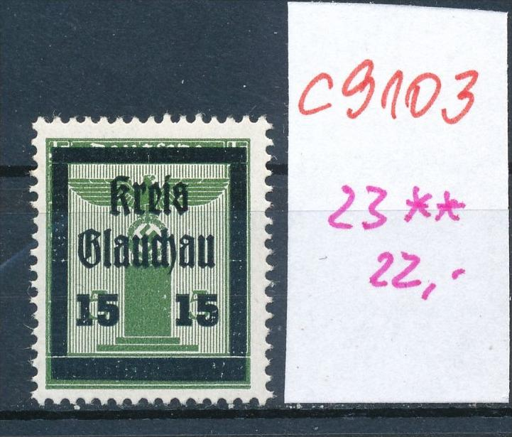 Glauchau Nr. 23  **   (c9103  ) siehe scan
