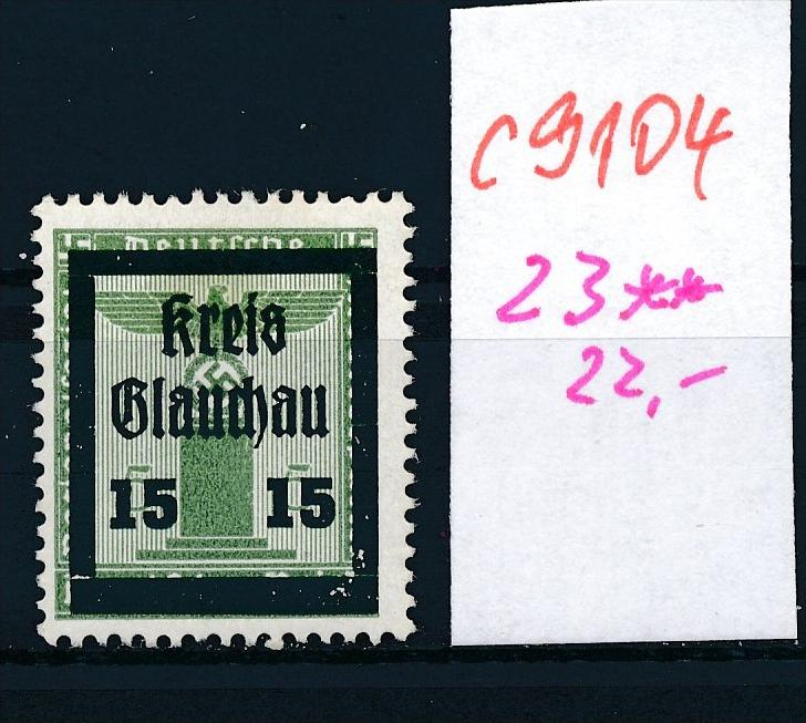 Glauchau Nr. 23  **   (c9104  ) siehe scan