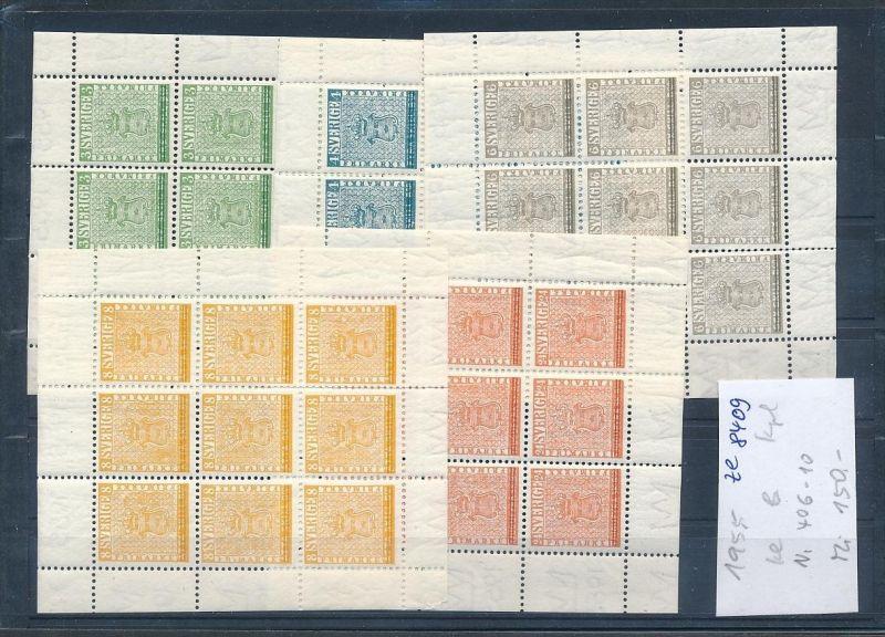 Schweden   Block 406-10   **  (ze8409  ) siehe scan