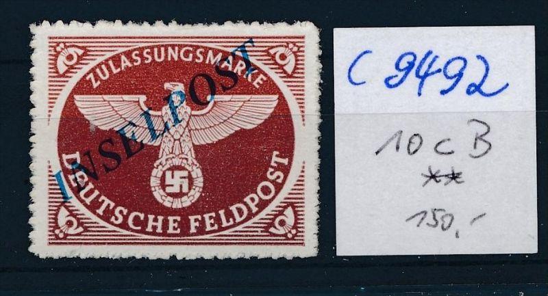 D.-Reich Nr. FP  10cB  **  (c9492  ) siehe scan  vergrößert