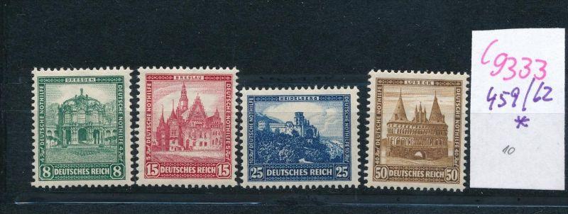 D.-Reich Nr.  459-62  *  (c9333  ) siehe scan  vergrößert