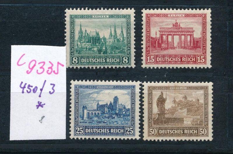 D.-Reich Nr.  450-3  *  (c9335  ) siehe scan  vergrößert
