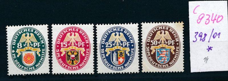 D.-Reich Nr.  398-01  *  (c9340  ) siehe scan  vergrößert
