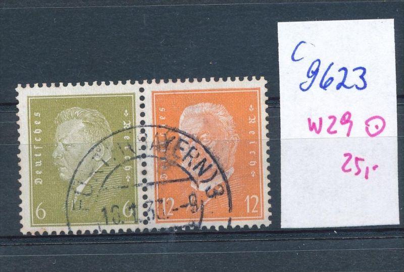 D.-Reich Nr.  w29  o   (c9623  ) siehe scan  vergrößert