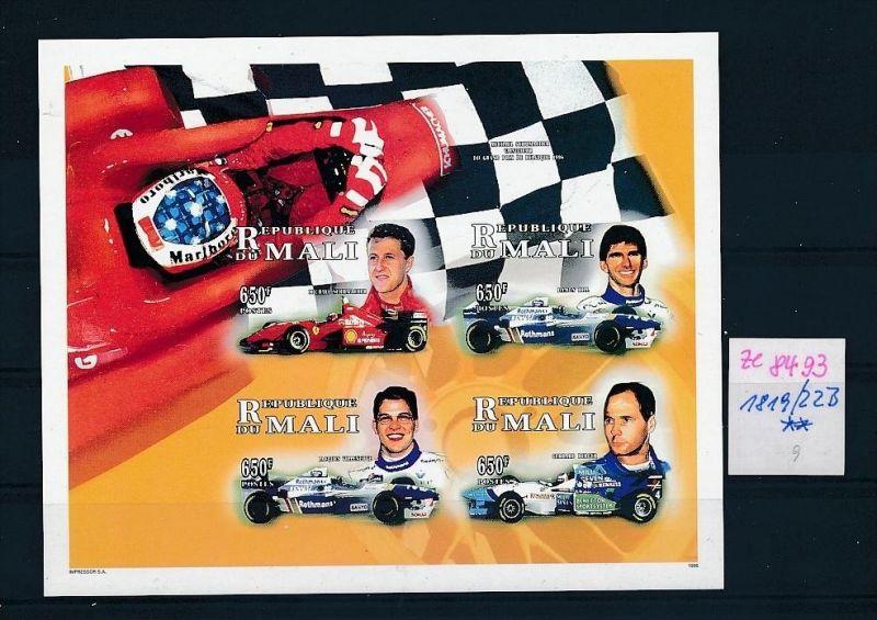 Formel 1-Michael Schumacher- Block Mali    **  (ze8493 ) siehe scan