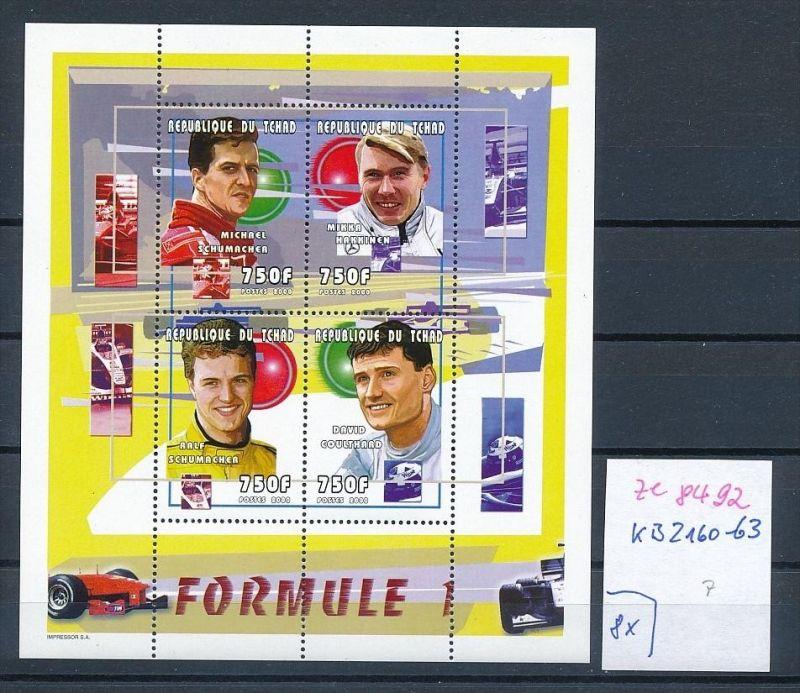 Formel 1-Michael Schumacher- Block- Tschad   **  (ze8492 ) siehe scan