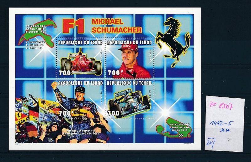 Formel 1-Michael Schumacher- Block- Tschad   **  (ze8507 ) siehe scan