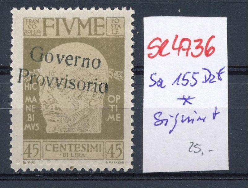 Fiume Nr. 155 Dzf * (se4736   ) siehe Bild !