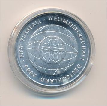 Deutschland  Silber 10 Euro Stück -  FIFA   2006 bankfrisch -stempelglanz  (x1608 )